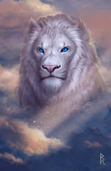 Commission: lion by Brevis--art