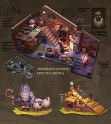 Mr. Volk's cabin by Brevis--art
