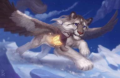 Commission: cat) by Brevis--art