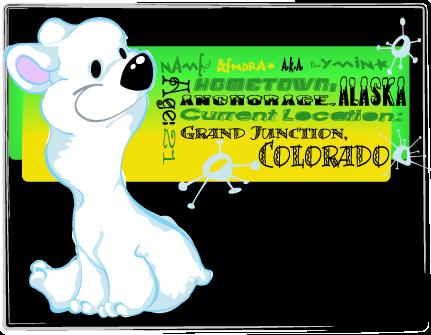 Polar Bear ID by KM-cowgirl