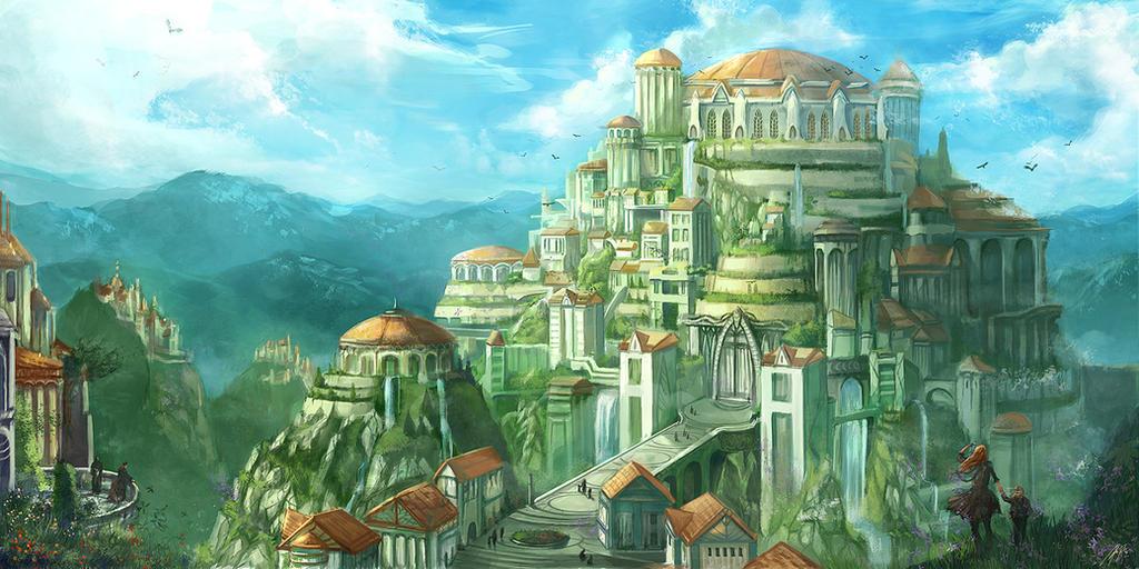 Asgard by flaviobolla