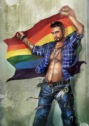 Over the Rainbow? by flaviobolla