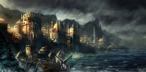 The Nordic Gate by flaviobolla