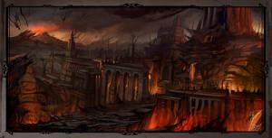 Inferno : Purgatory by flaviobolla