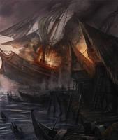 Fire of the Vanities - WIP by flaviobolla