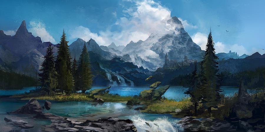 OSMADTH - Bancur Lake by flaviobolla