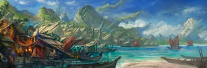 OSMADTH - Naldonya Bay by flaviobolla