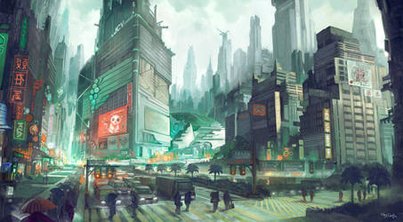 Hon Yen Central by flaviobolla