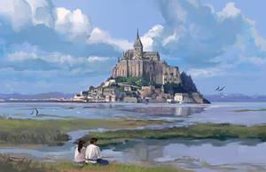 Mont St. Michel by flaviobolla