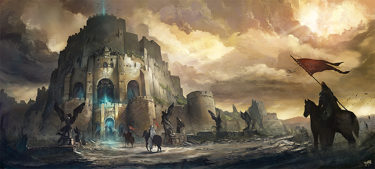 OSMADTH - The forgotten Gate by flaviobolla