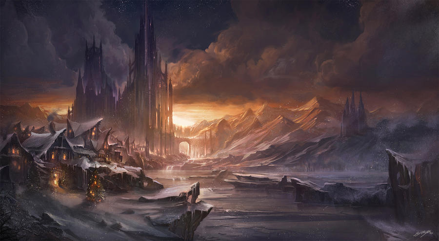 Wintercastle by flaviobolla