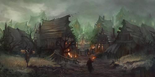 OSMADTH - Dun Artorith by flaviobolla