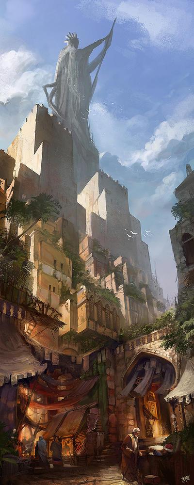 OSMADTH - Nasreddin by flaviobolla