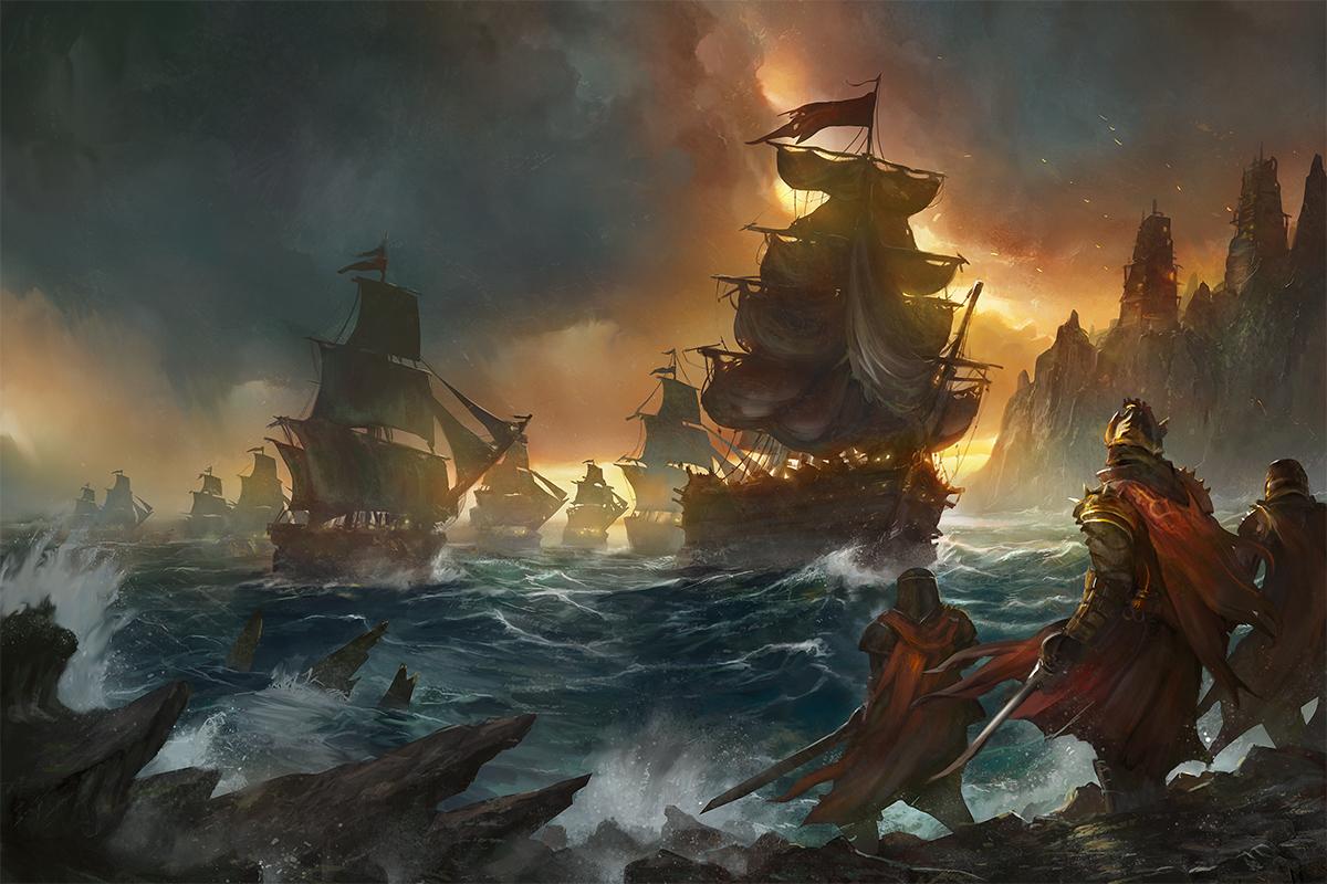 Sea and Shadow by flaviobolla