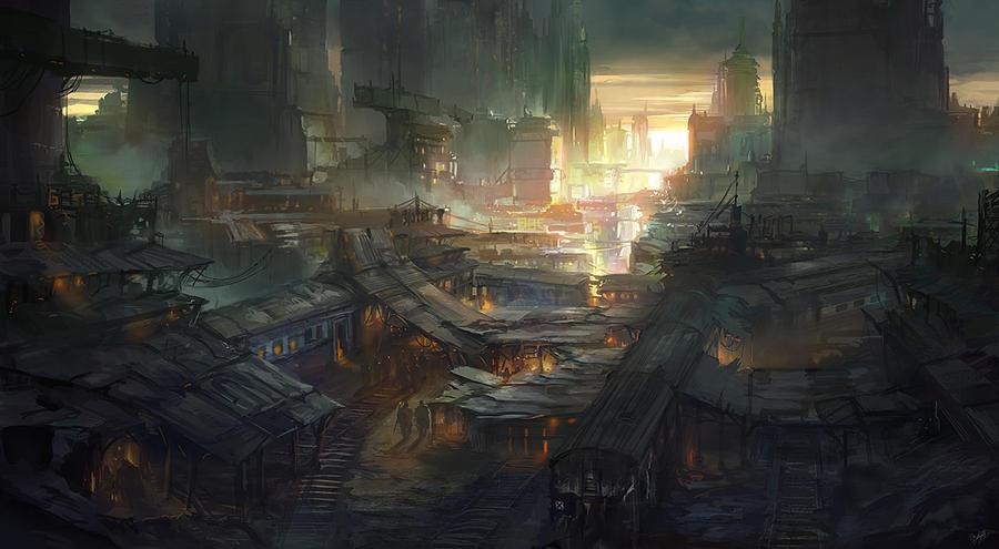 Traingraveyard by flaviobolla