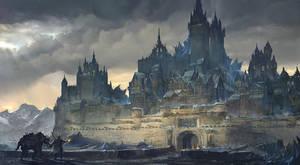 Frozen Hometown by flaviobolla