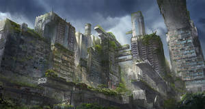 The Giants of the Past - A lost City