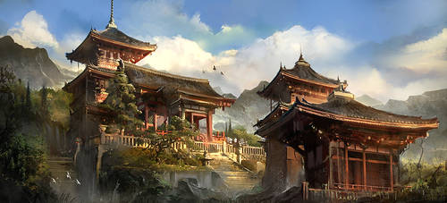 Memories of Japan by flaviobolla