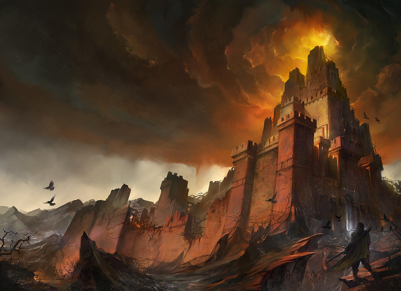Ashes Saga II - Cover by flaviobolla
