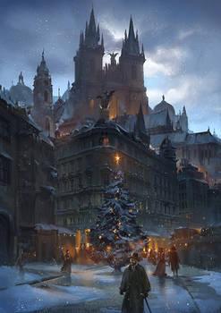 Starlight at Christmas Eve