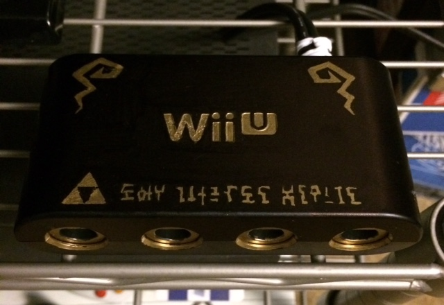 Custom WiiU/GCN Adaptor by Tenchin