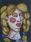 Mini portrait: Blondie by lesreveriesdAnna