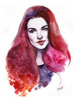 Redhead by Girdiuk