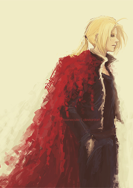 Edward Elric by tissine
