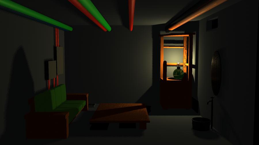 Basement room by Demon-Lord-Dark on DeviantArt