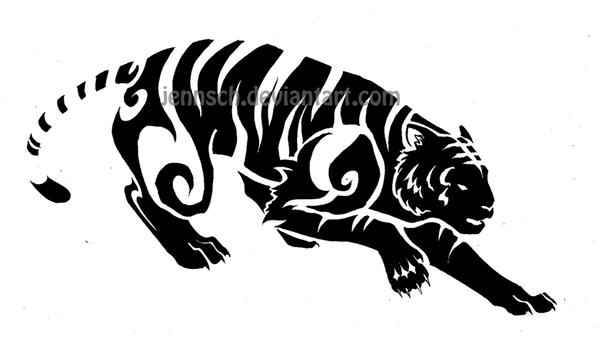 chinese zodiac tiger by jennsch on deviantart. Black Bedroom Furniture Sets. Home Design Ideas