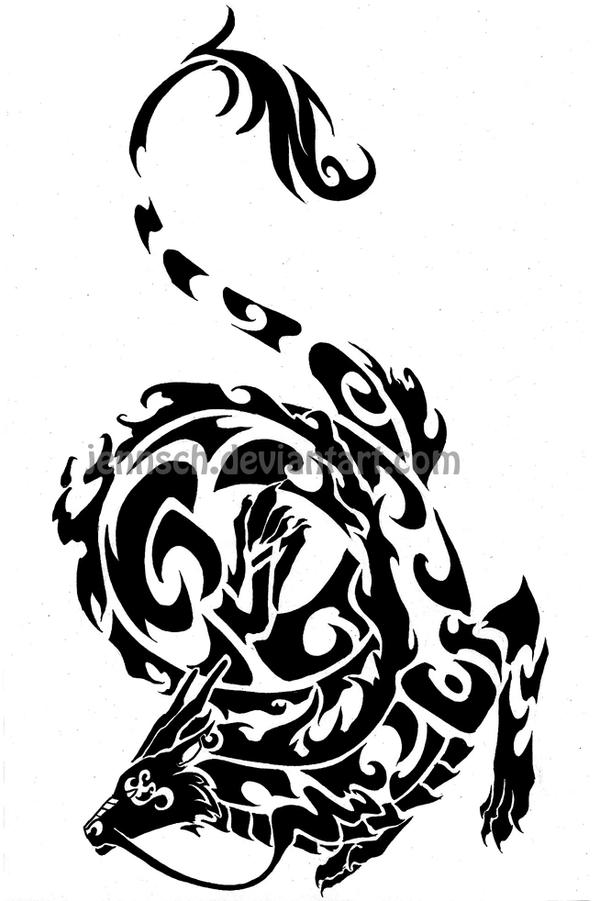 Chinese Zodiac Dragon Drawing Chinese Dragon Tattoo Png