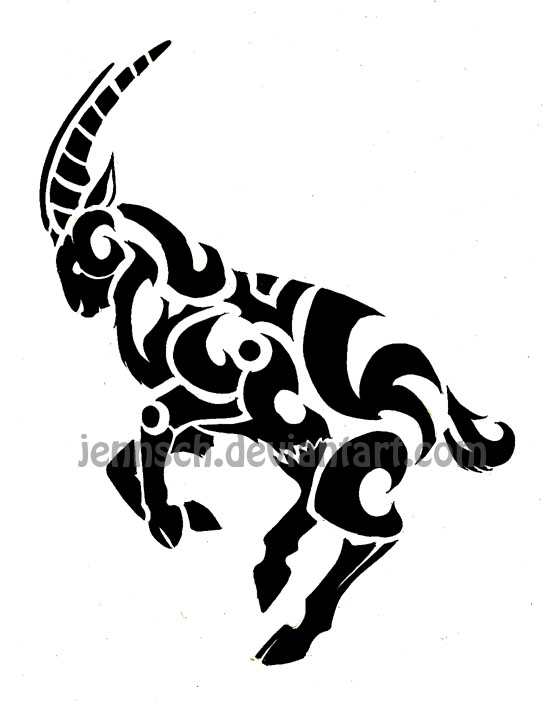 chinese zodiac goat by jennsch on deviantart. Black Bedroom Furniture Sets. Home Design Ideas