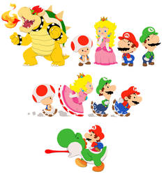 Mario and co by shadowstheater