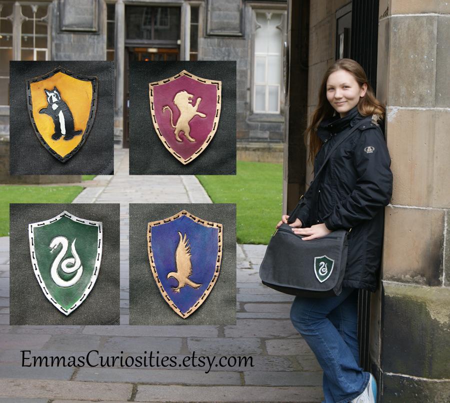 Harry potter messenger bag satchel by ButtonxMushroom
