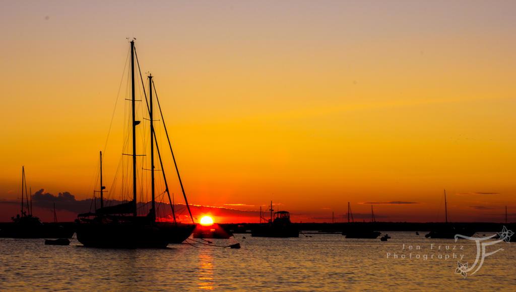 Westerly Sunset by JenFruzz