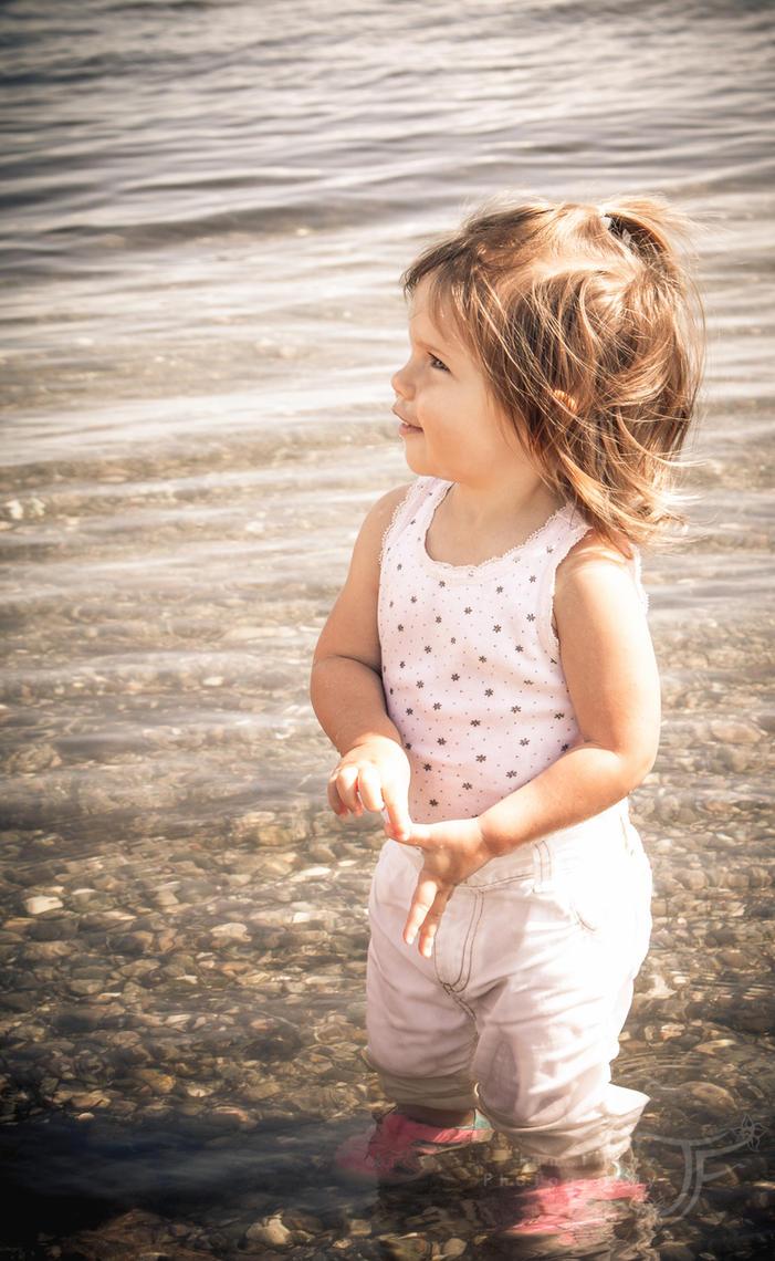 Beach Baby by JenFruzz