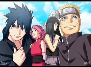 Naruto Fanart - A Blue Sky