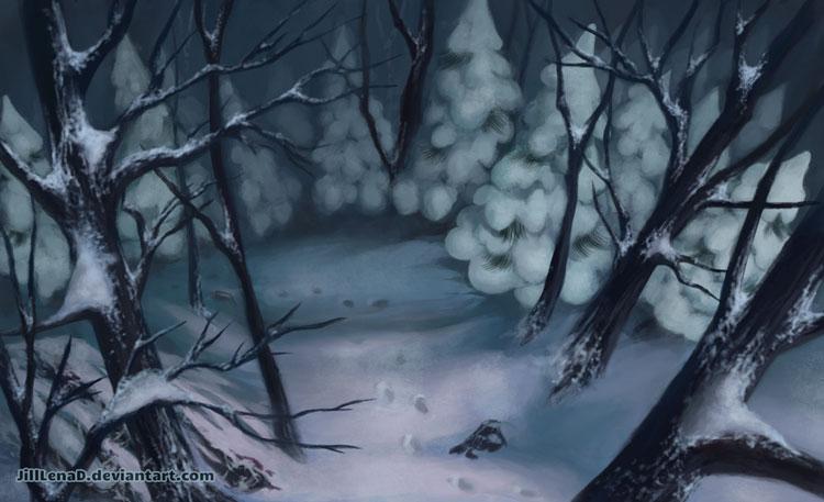 Snow Maiden: Layout 115 by JillLenaD