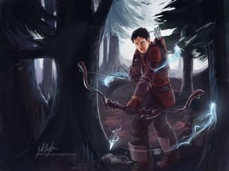 Henrik the Ranger by JillLenaD