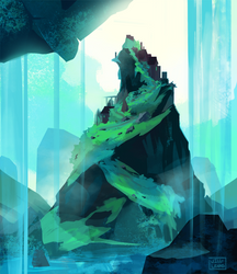 Distant City by JillLenaD