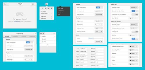 Visual Boy Advance (VBA-M) GTK+3 redesign (Part 2) by aldomann