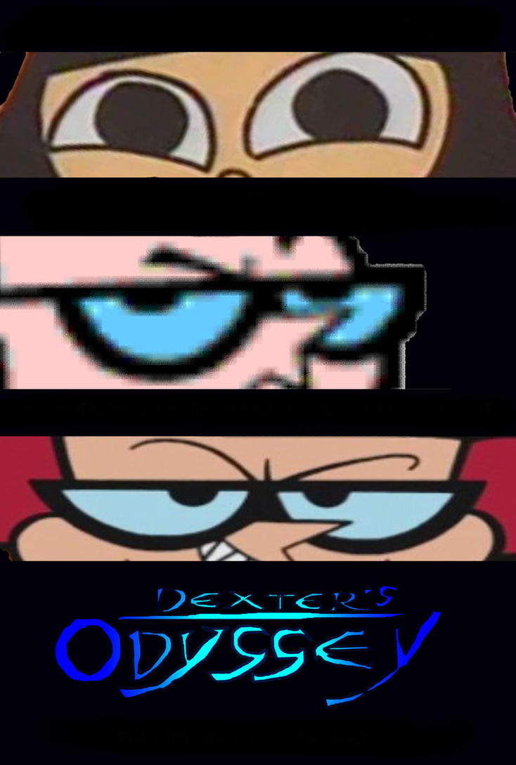 Dexter's Odyssey poster design without taglines by timbox129