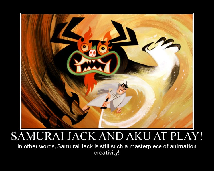 samurai_jack_and_aku_at_play__by_timbox129 d7actsy samurai jack and aku at play! by timbox129 on deviantart