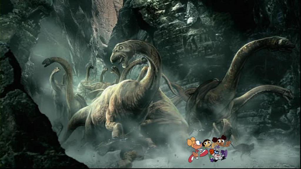 Dinosaur Stampede! by timbox129