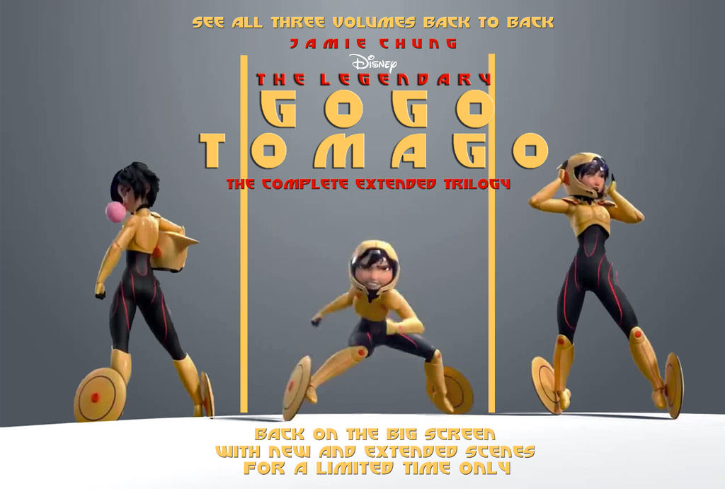 The Legendary GoGo Tomago Trilogy Billboard by timbox129