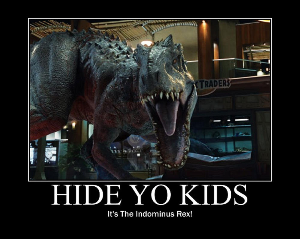 Hide Yo Kids, It's The Indominus Rex! by timbox129
