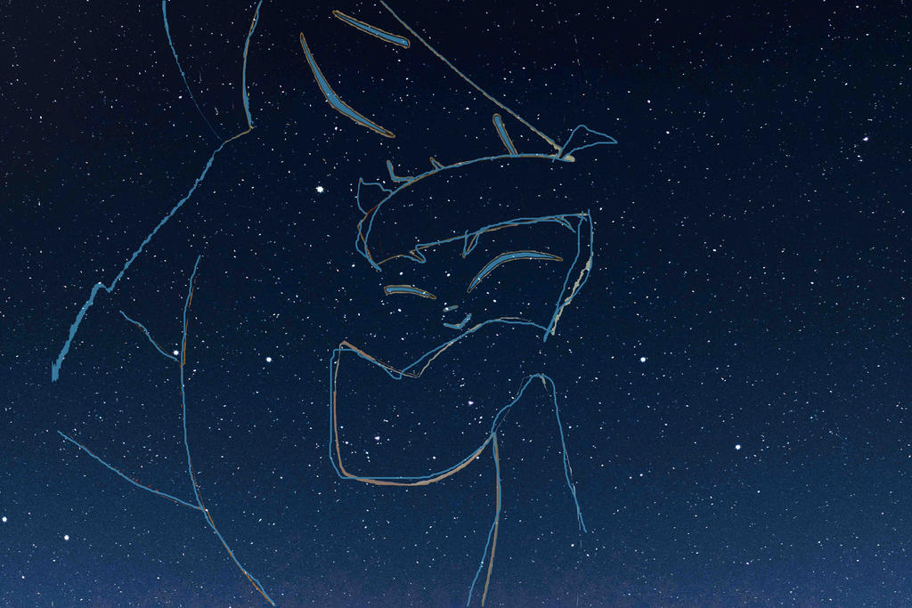 Mother and Son Constellation by timbox129
