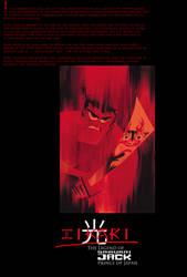 Hikari: The Legend of Samurai Jack Prince of Japan by timbox129