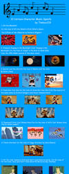 12 Cartoon Character-themed Music Spoof Titles by timbox129