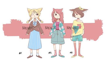 Sweet kitties [CLOSED] by Shishi-Hokodan